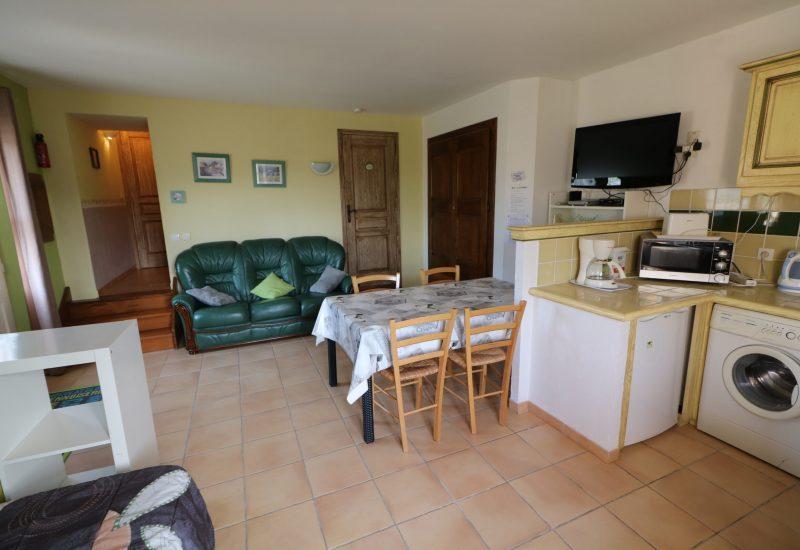 G1 Provence vue couloir et chambre